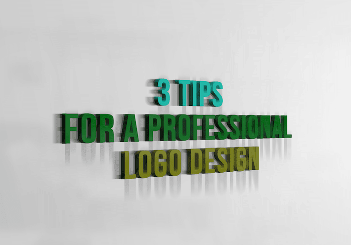 3 Tips For A Professional Logo Design