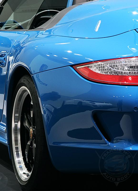 Auto Body Web Design